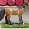 Halfpint - Custom Safari Ltd TOOB Standing Pony - Martha Bechtel - Right