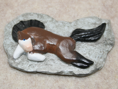 Leaping Horse Magnet 014 - Gallery Image