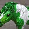 Lucky - Custom Safari Ltd TOOB Standing Pony - Martha Bechtel - Headshot