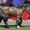 Maddy - Custom Safari Ltd TOOB Walking Pony - Martha Bechtel - Grass