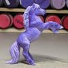 Petunia - Custom Safari Ltd TOOB Rearing Pony - Martha Bechtel - Right
