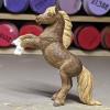 Socks - Custom Safari Ltd TOOB Rearing Pony - Martha Bechtel - Left