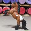 Spuds - Custom Safari Ltd TOOB Rearing Pony - Martha Bechtel - Left