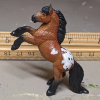 Spuds - Custom Safari Ltd TOOB Rearing Pony - Martha Bechtel - Scale