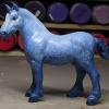 Thorsday Blues - Custom Breyer Stablemate G4 Drafter - Martha Bechtel - Left