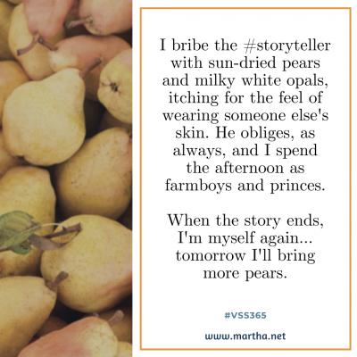 vss365 storyteller - Twitter prompt response