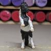 Domino - Custom Safari Ltd TOOB Rearing Pony - Martha Bechtel - Nose
