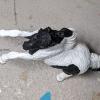 Domino - Custom Safari Ltd TOOB Rearing Pony - Martha Bechtel - Top