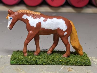 Briar Rose - Custom Breyer Mini Whinnie Jog Trot Quarter Horse Mare - Martha Bechtel - Left