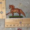 Flamewars - Custom Breyer Mini Whinnie Trotting Morgan Stallion - Martha Bechtel - Scale