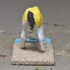 Gelbspritz - Custom Breyer Mini Whinnie Grazing Foal - Martha Bechtel - Tail