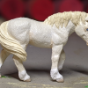 Ghost - Custom Safari Ltd TOOB Walking Pony - Martha Bechtel - Portrait
