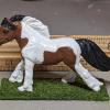 Lickitysplit - Custom Safari Ltd TOOB Running Pony - Martha Bechtel - Scale