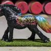 Orion - Custom Safari Ltd TOOB Running Pony - Martha Bechtel - Left