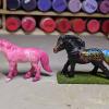 Orion and Wildesherz - Custom Safari Ltd TOOB Ponies - Martha Bechtel - Group Shot