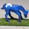 Puddlejump - Custom Breyer Mini Whinnie Grazing Foal - Martha Bechtel - Right