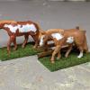Thatill Do Briar Rose - Custom Breyer Mini Whinnies - Martha Bechtel - Pair