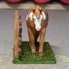 Thatill Do - Custom Breyer Mini Whinnie Jog Trot Quarter Horse Mare - Martha Bechtel - Nose