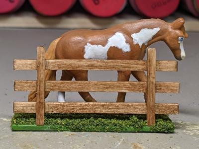 Thatill Do - Custom Breyer Mini Whinnie Jog Trot Quarter Horse Mare - Martha Bechtel - Right
