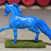 Tsunami Tango - Custom Breyer Mini Whinnie Trotting Morgan Stallion - Martha Bechtel - Left