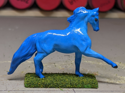 Tsunami Tango - Custom Breyer Mini Whinnie Trotting Morgan Stallion - Martha Bechtel - Right