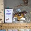 Fat Pegasus Magnet 014 - Red Dun - Martha Bechtel - Bag scale