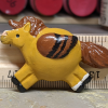 Fat Pegasus Magnet 014 - Red Dun - Martha Bechtel - Scale