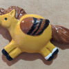 Fat Pegasus Magnet 014 - Red Dun - Martha Bechtel - Tan