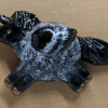 Fat Pegasus Magnet 015 - Black Roan Gold - Martha Bechtel - Tan