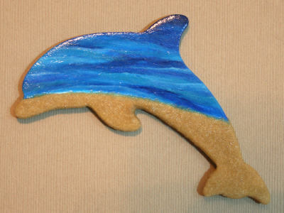 Wooden Dolphin Magnet 21 - Gallery Image