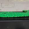 Wooden Whale Magnet - 002 Green Dots - Martha Bechtel - Tummy