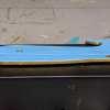 Wooden Whale Magnet - 003 Blue Water - Martha Bechtel - Tummy
