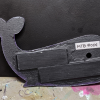 Wooden Whale Magnet - 004 Night Sky Nebula - Martha Bechtel - Back