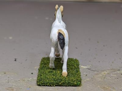 Cupid - Custom Breyer Mini Whinnie Romping Foal - Martha Bechtel - Tail