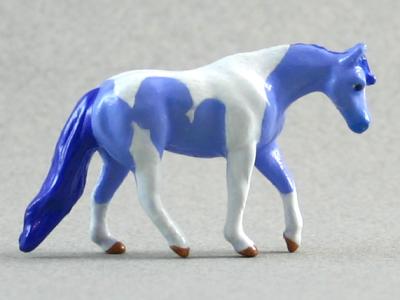 Partly Cloudy - Custom Breyer Mini Whinnie Jog Trot Quarter Horse Mare - Martha Bechtel - Right