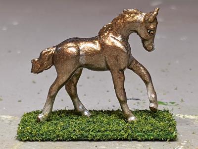 Sprocket - Custom Breyer Mini Whinnie Romping Foal - Martha Bechtel - Right