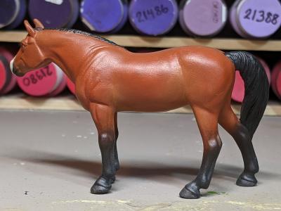 Abby - Custom Breyer Stablemate Quarter Horse - Martha Bechtel - Left