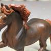 Dun'wishin - Custom Breyer Stablemate Friesian - Martha Bechtel - Headshot