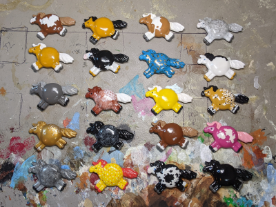 Fat Pony Magnets - Gallery Image