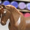 Jasmijn - Custom Breyer Stablemate Trotting Warmblood - Martha Bechtel - Headshot