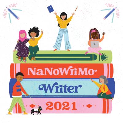 NaNoWriMo 2021 Badge